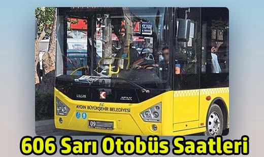 606 Sarı Otobüs Saatleri