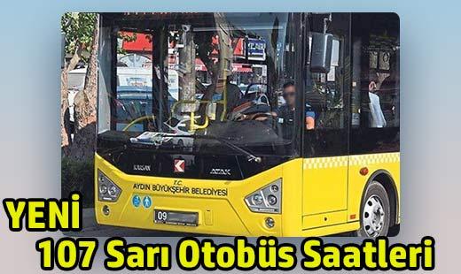 107 sarı otobüs saatleri aydın